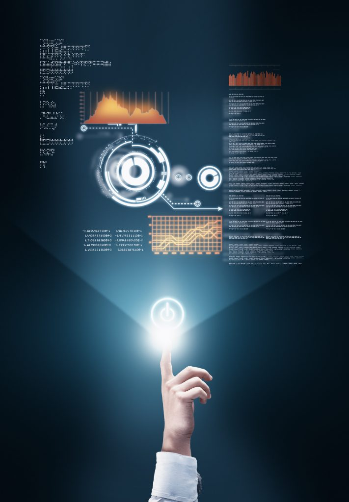 Transfert de données en hologramme
